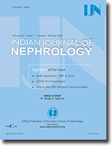 Indian J Nephrol